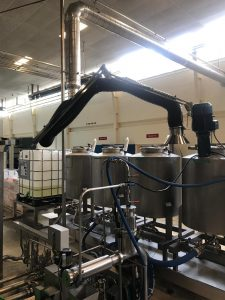 Extraction arm ATEX