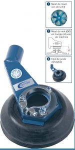 Suction casing grinder