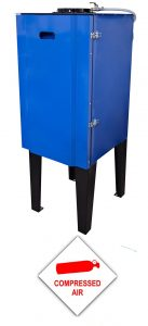 Stationary Extractionunit compressed air