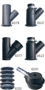 Suction casings core drilling