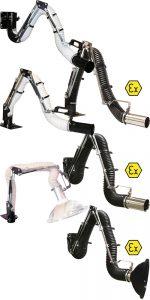 Afzuigarmen Dust Solutions ATEX