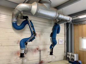 Duurzame industriële afzuiginstallaties en filterinstallaties 2
