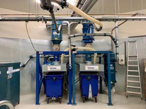 Duurzame industriële afzuiginstallaties en filterinstallaties 1