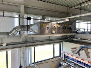 Modulaire opbouwbare luchtbehandelingskasten